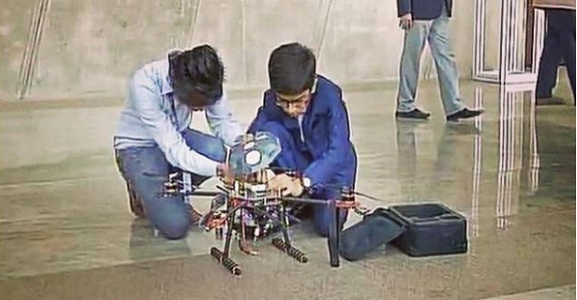 14-jarige jongen tekent deal met Indiase overheid voor zijn anti-landmijn drone