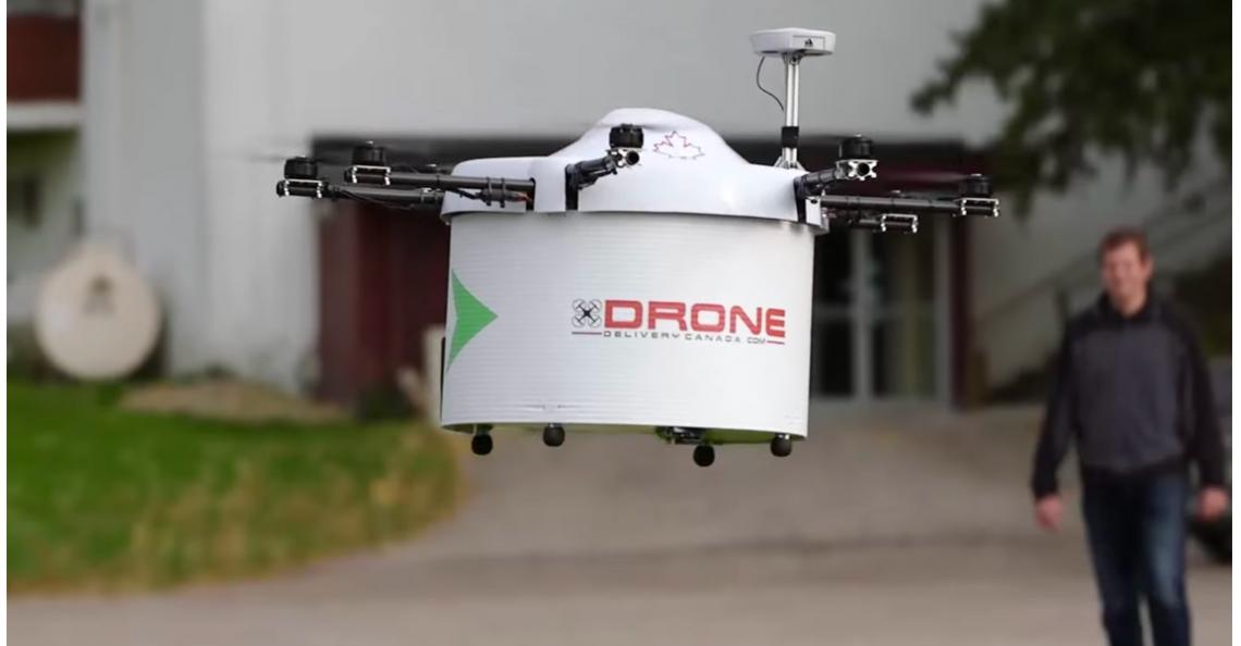 Drone bezorging in Canada beschikbaar eind 2017