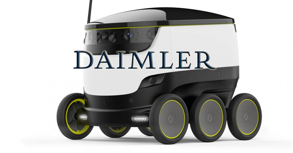 Daimler investeert $17.2 miljoen in rijdende bezorgdrones