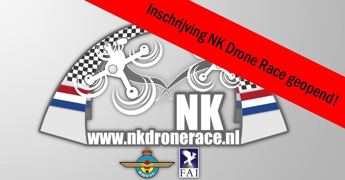Inschrijving NK Drone racen geopend!