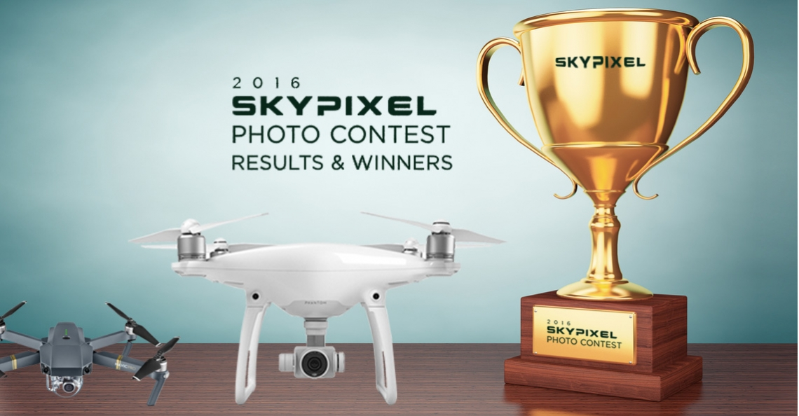 Winnaars DJI's SkyPixel Photo Contest 2016