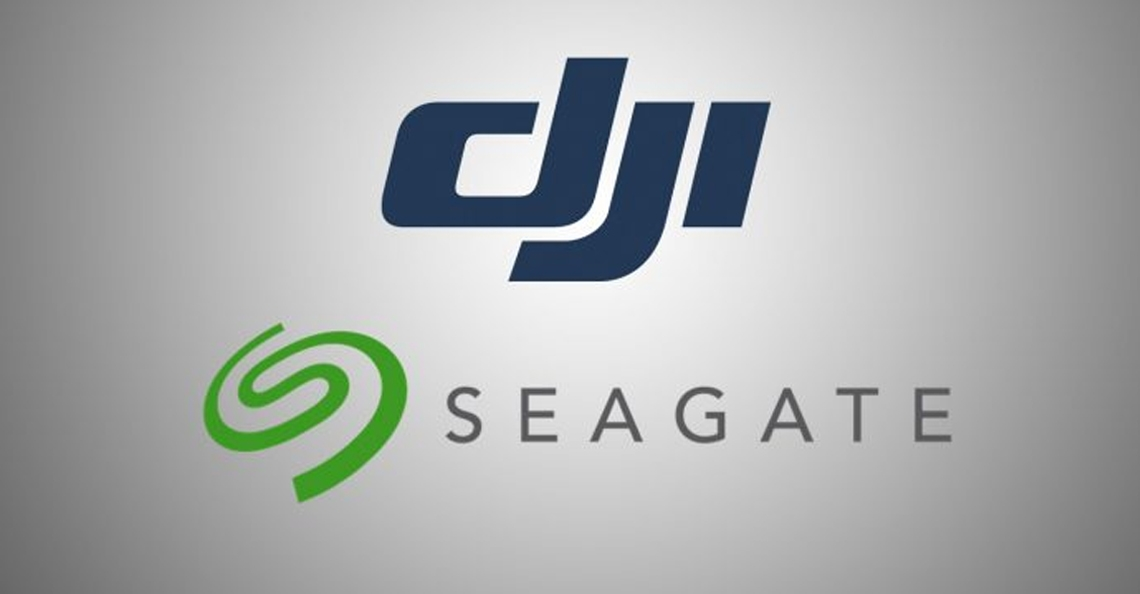Seagate en DJI sluiten partnershap voor nieuwe opslag oplossingen