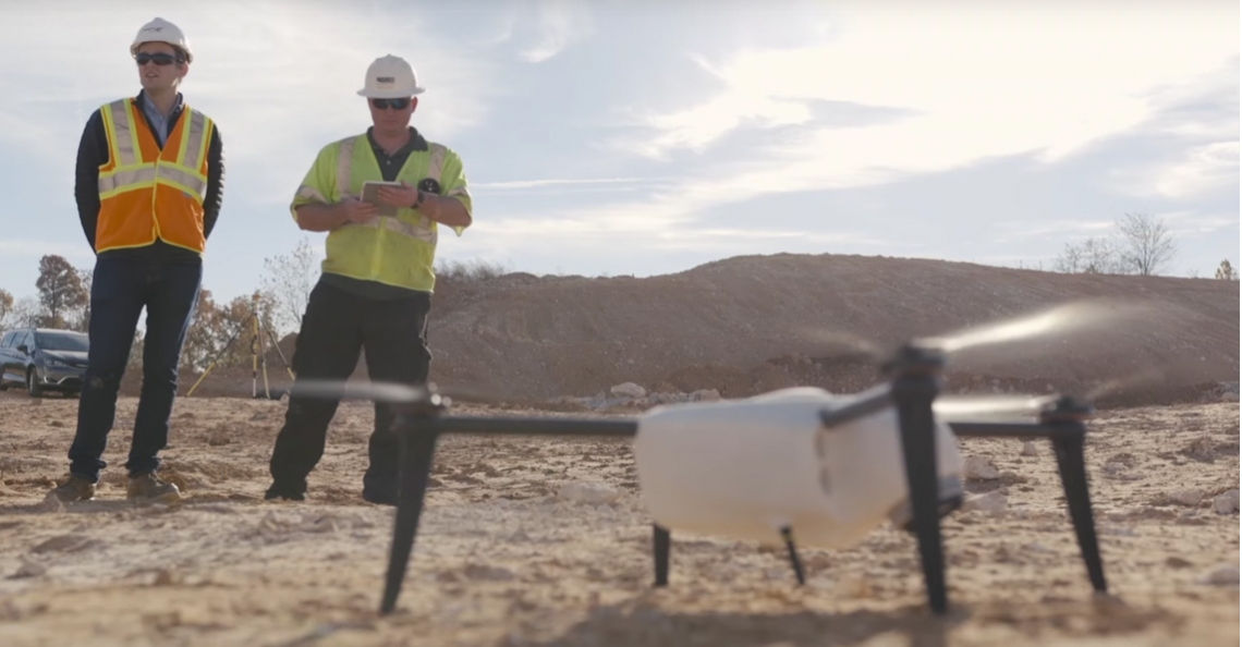 Kespry introduceert Kespry Drone 2s System