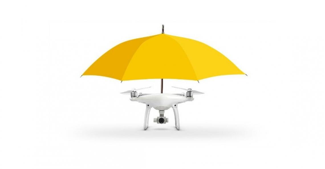 Drone paraplu: flauwe grap of echt de toekomst?