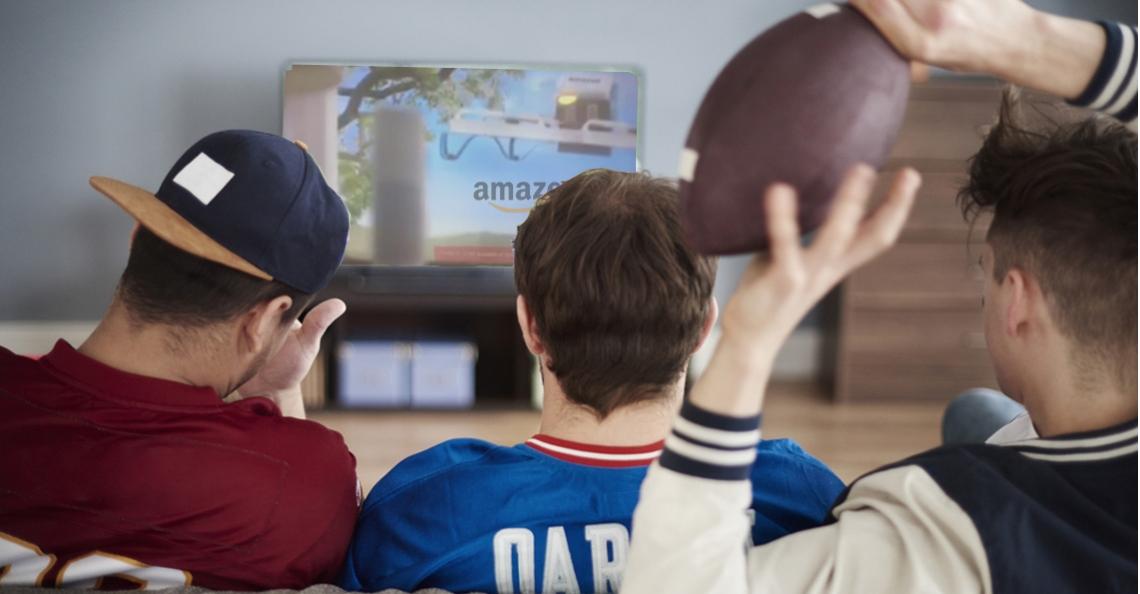 Amazon haalt uit naar FAA in Super Bowl commercial