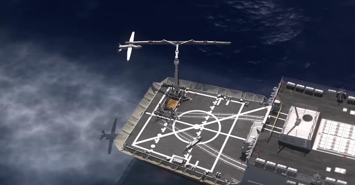 Darpa's grijparm kan drones eenvoudig uit de lucht plukken