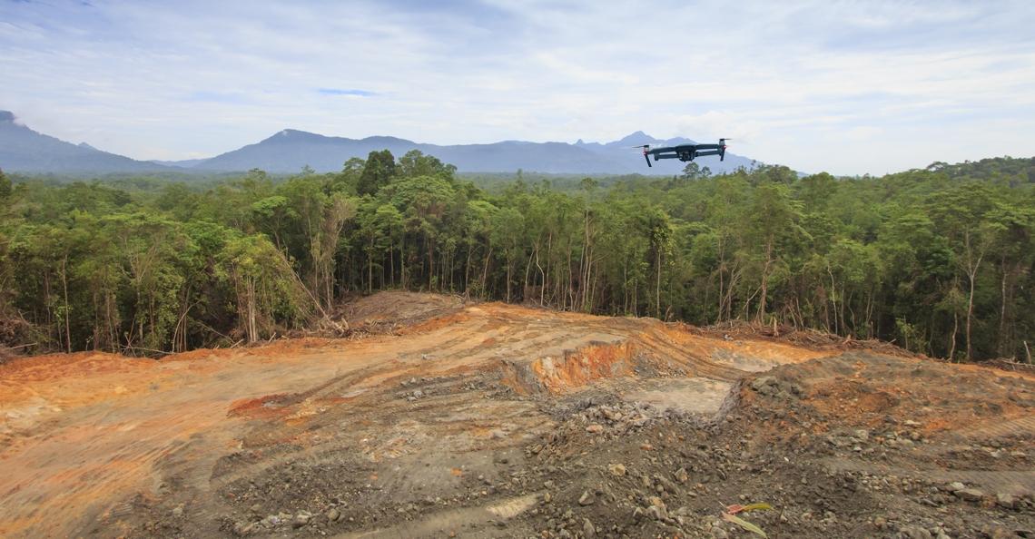 Drones de nieuwe boswachters van het Amazonegebied