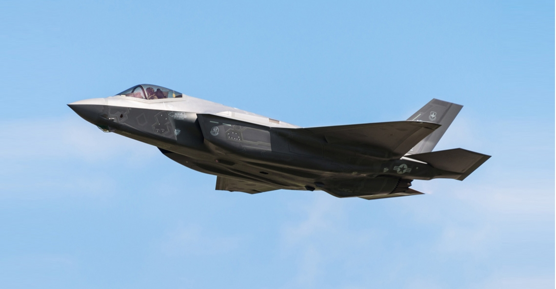 F-35 straaljager bestuurt drones