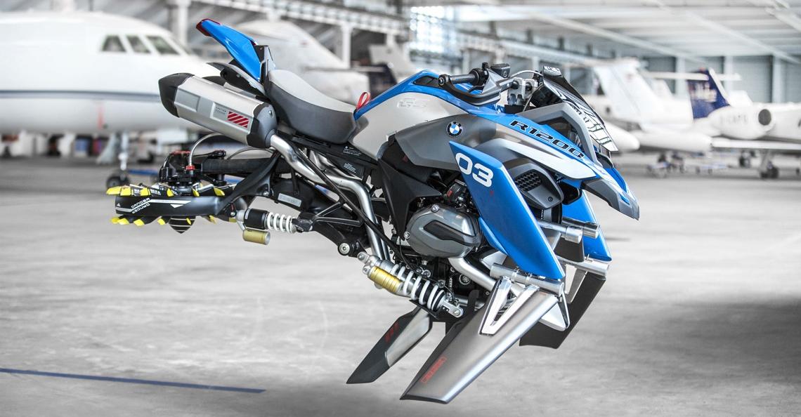 BMW en LEGO Technic bouwen vliegende motor