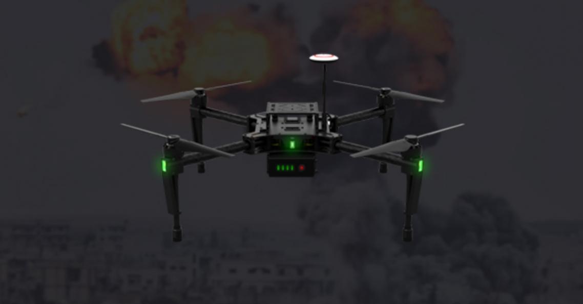 IS gebruikt DJI Matrice als bommenwerper