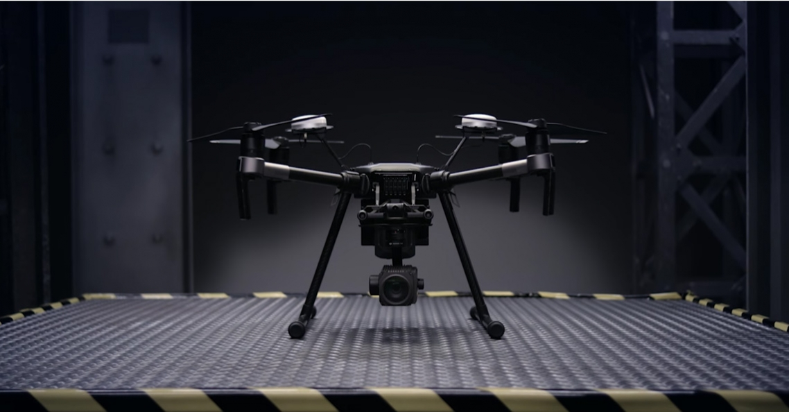 DJI introduceert Matrice 200 serie