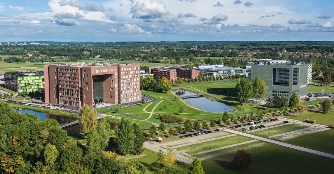 Onderzoekers Universiteit Wageningen gebruiken drones bij onderzoek plantengroei