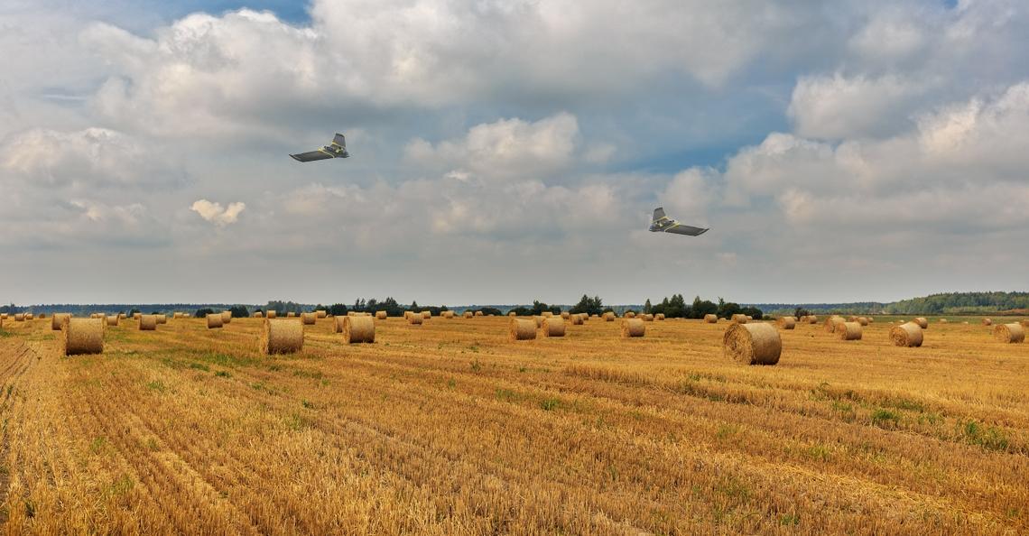 Opbrengst Franse graanboeren verhoogt dankzij inzet drones