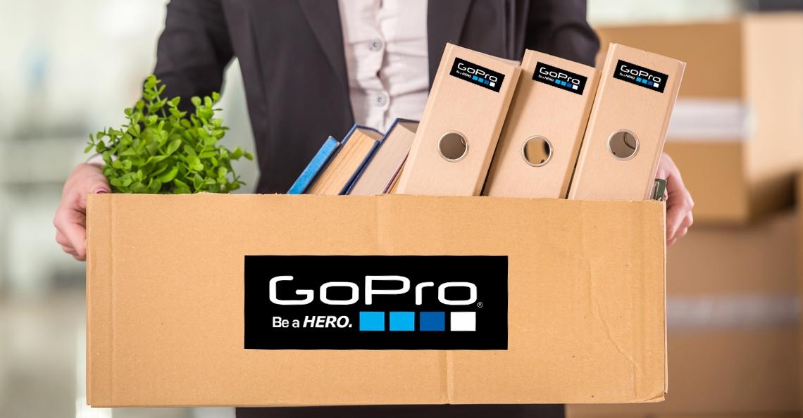 GoPro schrapt opnieuw 270 banen