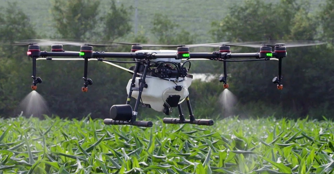 DJI kondigt vernieuwde MG-1S landbouwdrone aan