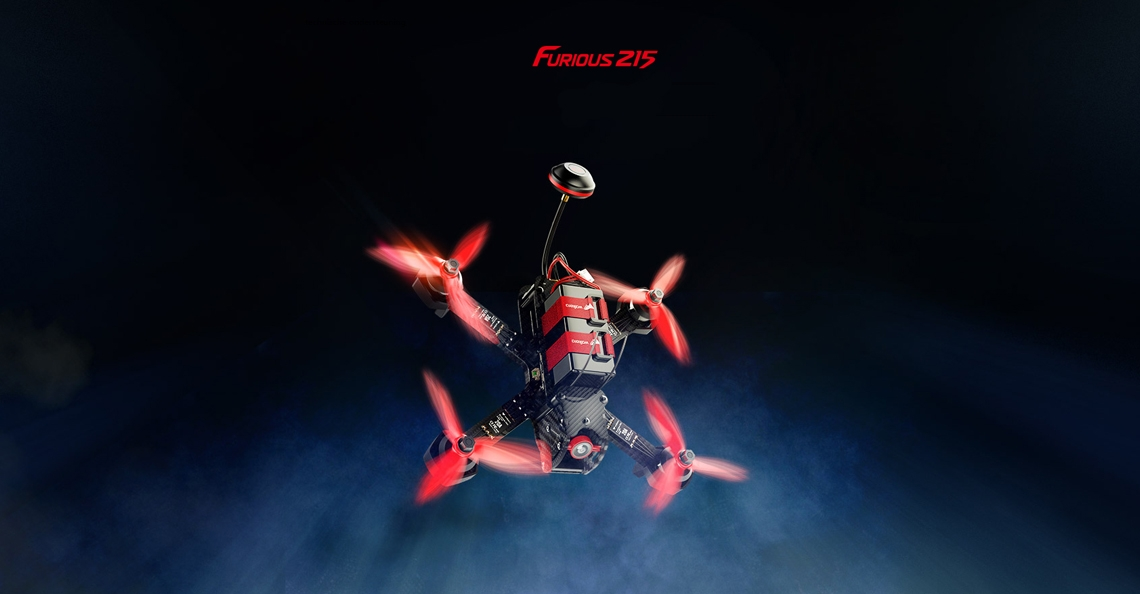 Walkera presenteerd Furious 215 racing drone