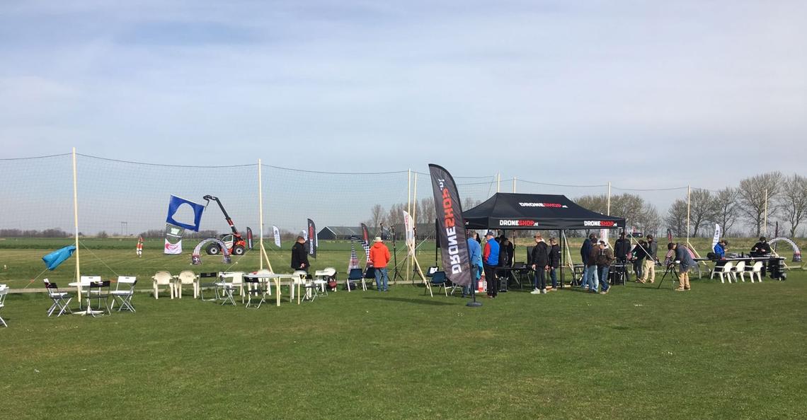 Eerste NK Drone Race trainingsdag groot succes