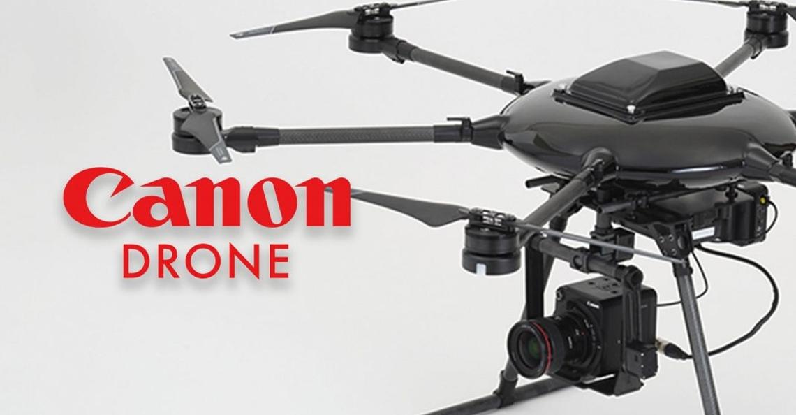 Canon bouwt eigen professionele camera drone