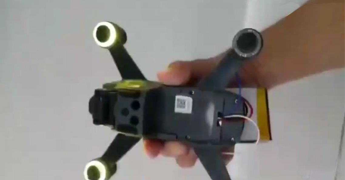Video van DJI Spark race drone uitgelekt