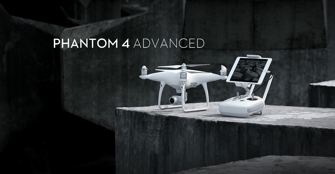 DJI presenteert Phantom 4 Advanced en Advanced+
