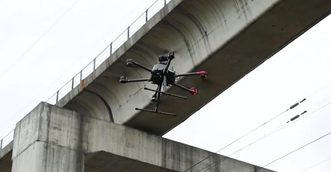 Walkera kondigt Walkera QL900 drone aan voor bruginspecties