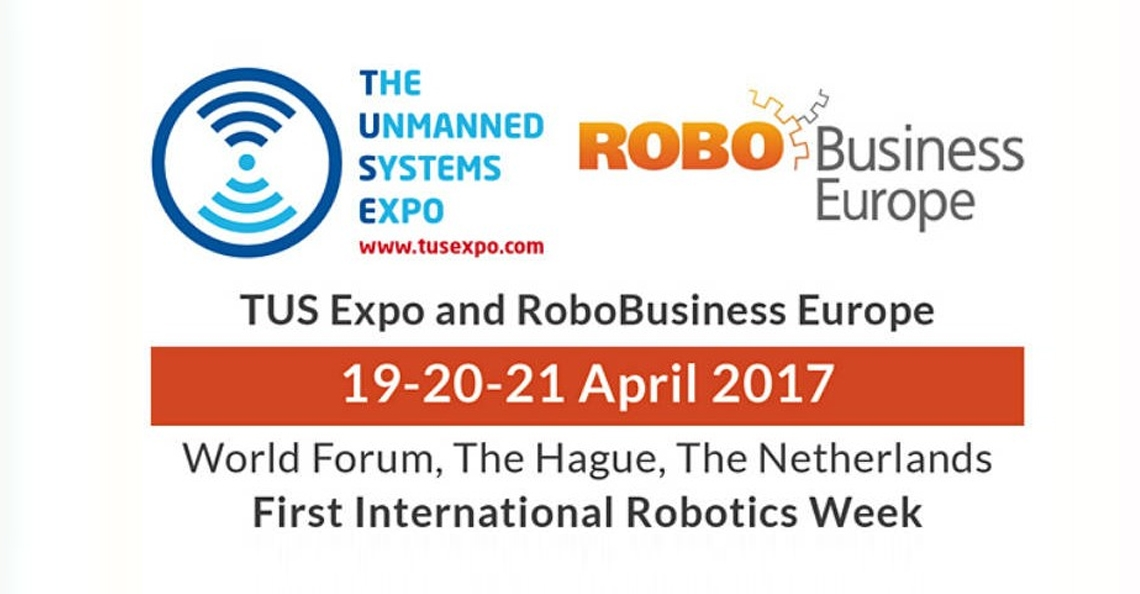 Deze week International Robotics Week in het World Forum Den Haag