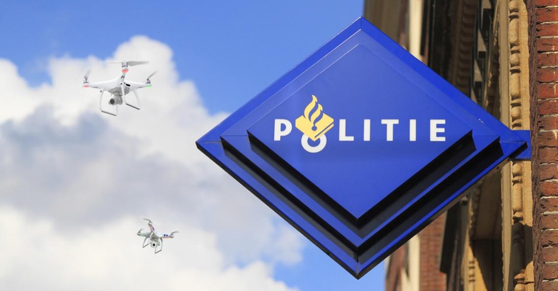 Politie jaagt online op dronepiloten