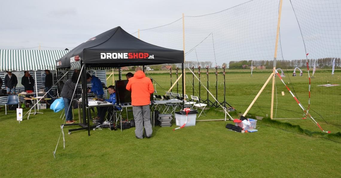Locatie tweede ranking toernooi NK Drone Race gewijzigd
