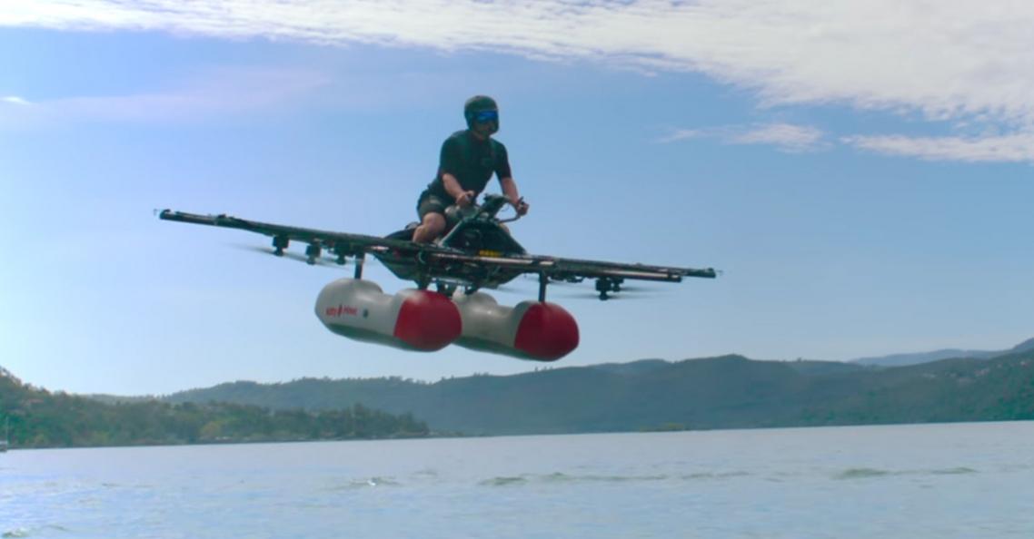 Google-topman investeert in 'drone' voor persoonsvervoer