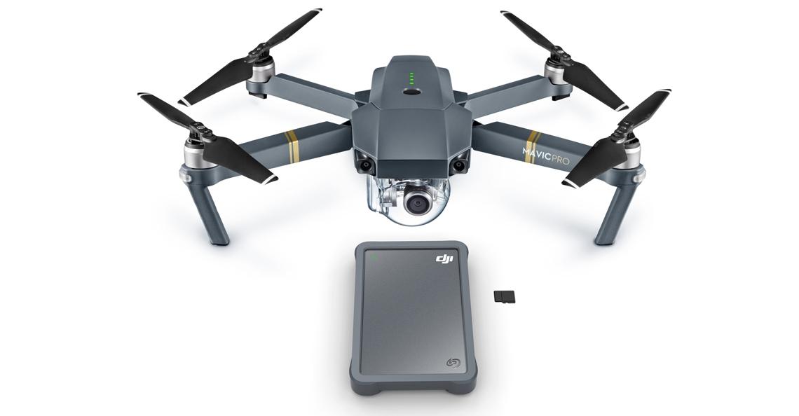 Seagate en DJI presenteren externe harde schijf 'Fly Drive'