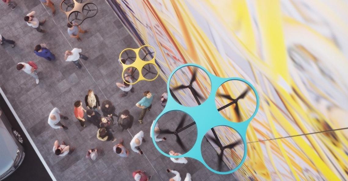 Graffitidrones maken eenvoudig grote kunstwerken
