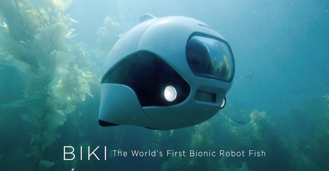 BIKI onderwaterdrone razend populair op Kickstarter
