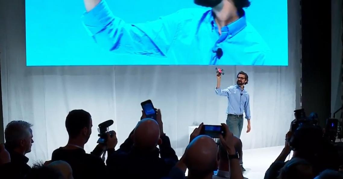 DJI onthult langverwachte DJI Spark drone