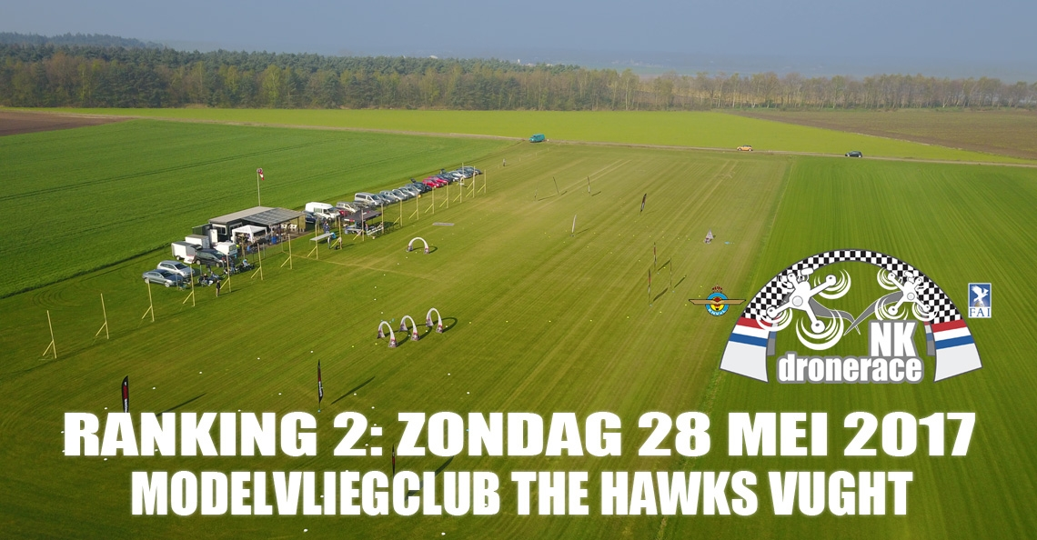 Morgen 2e Ranking Toernooi NK Drone Race 2017 in Vught