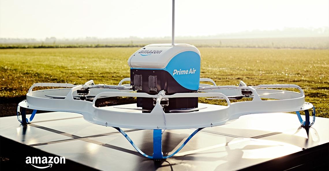 Amazon gaat bezorgdrones ook in Frankrijk testen