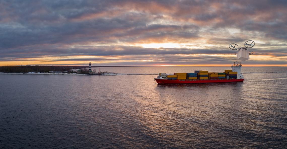Wilhelmsen Ships Service zet drones in voor bezorging aan boord