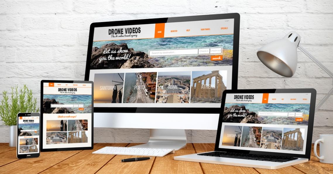 Maak een website voor je dronevideo's