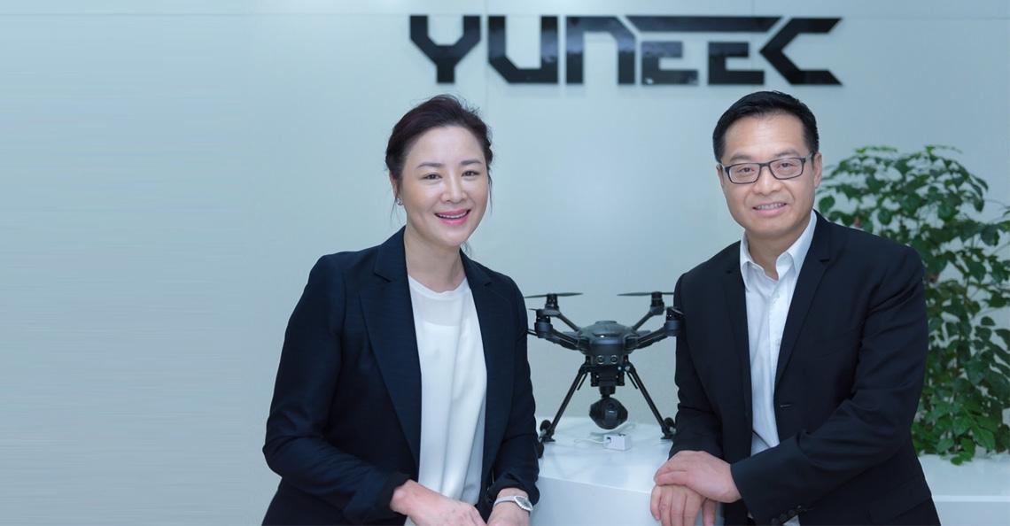 Dronefabrikant Yuneec stelt Michael Jiang aan als nieuwe CEO