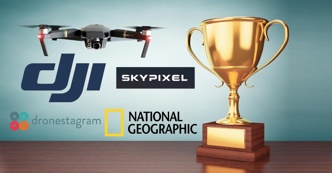 DJI en Dronestagram lanceren drone fotografie wedstrijden met prachtige prijzen