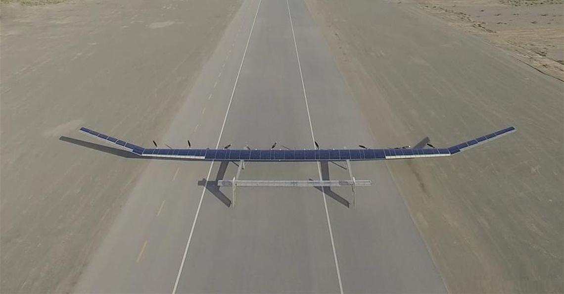 China maakt drone met een vliegtijd van meerdere jaren