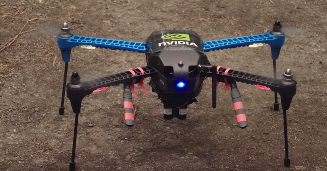 Nvidia introduceert systeem voor drones voor locaties zonder GPS