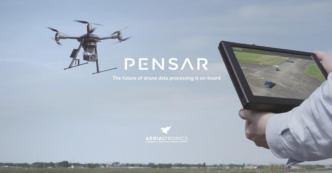 Aerialtronics presenteert PENSAR dual spectrum camera platform