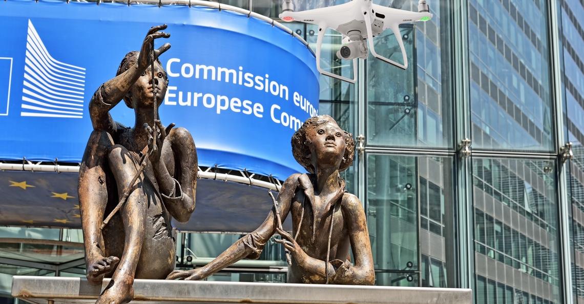 Europese Commissie presenteert blauwdruk nieuwe droneregulering