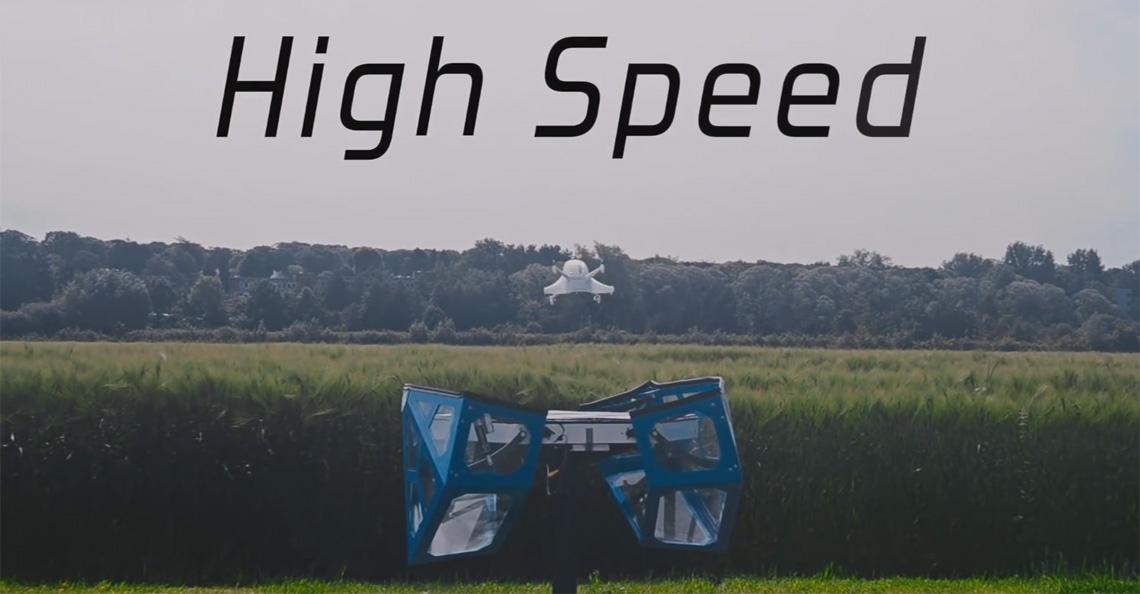 KU Leuven ontwikkelt Cargocopter bezorgdrone
