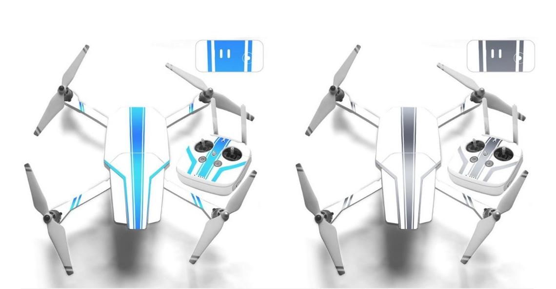 Speciale kit maakt van je DJI Phantom 3 een Mavic achtige drone