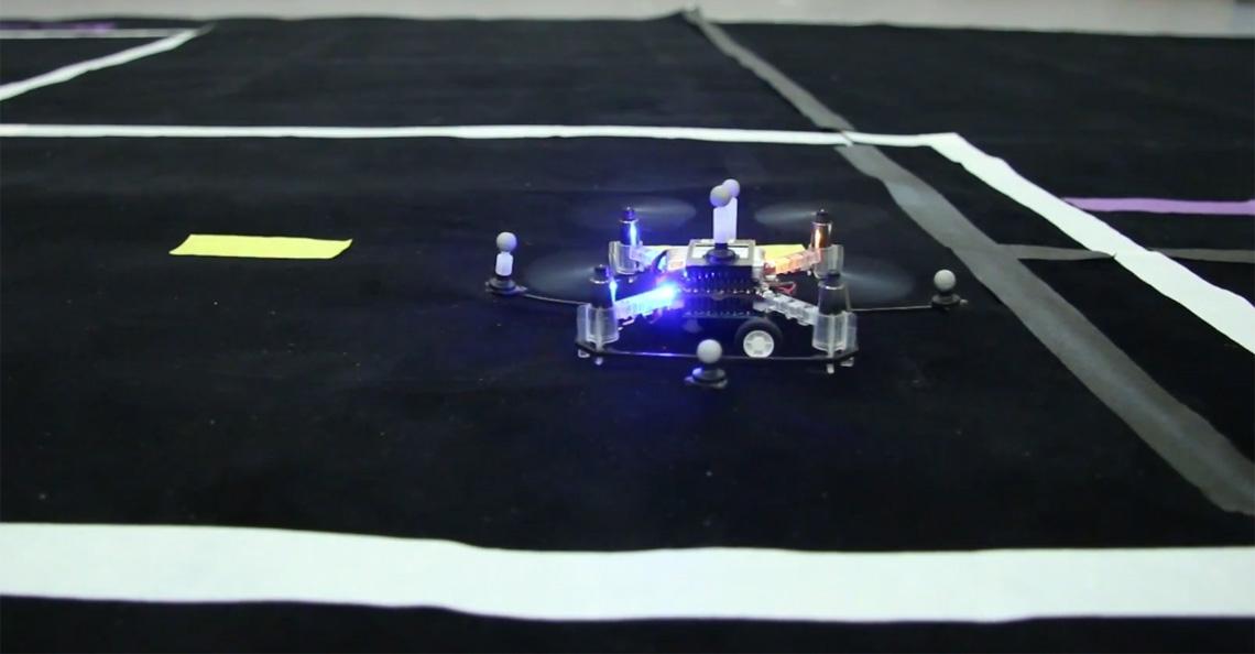 MIT ontwikkelt autonome drones die ook rijden