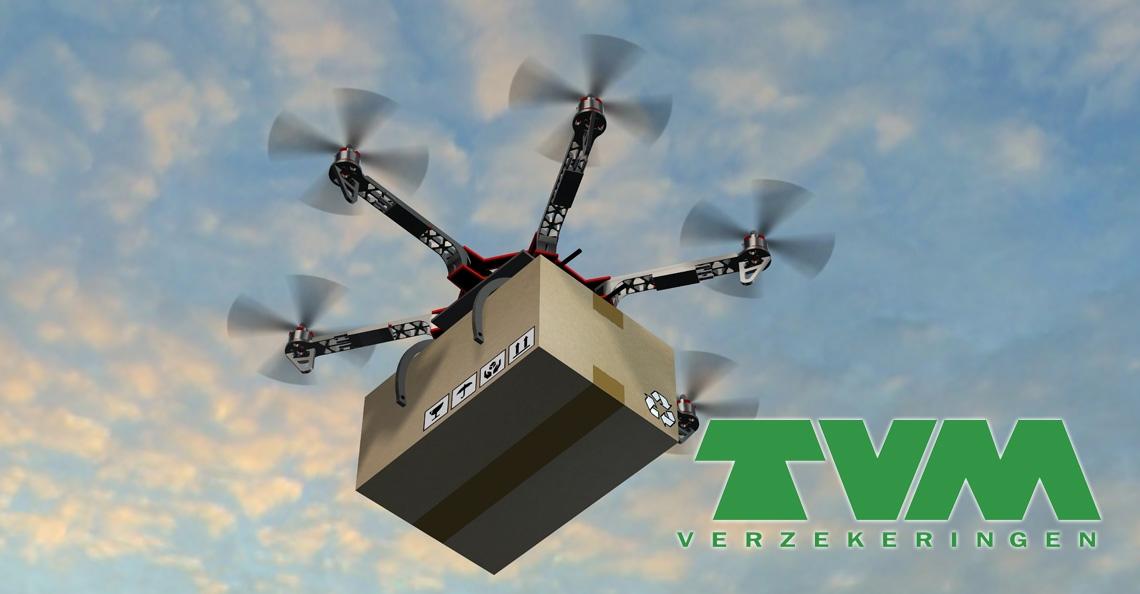 TVM zet in op verzekering goederenvervoer met drones
