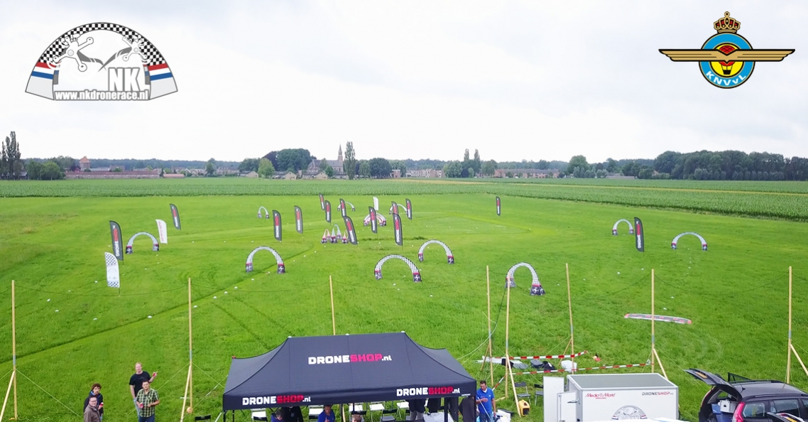 Uitslag ranking 4 NK Drone Race 2017