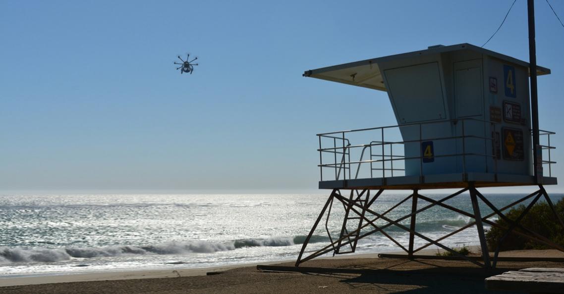 Britse kustwacht gaat drones inzetten om drenkelingen op te sporen