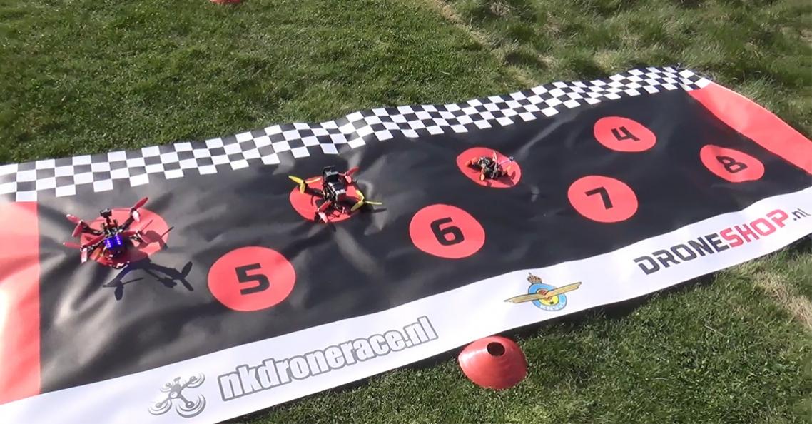Stand na 4 rankings van NK Drone Race 2017